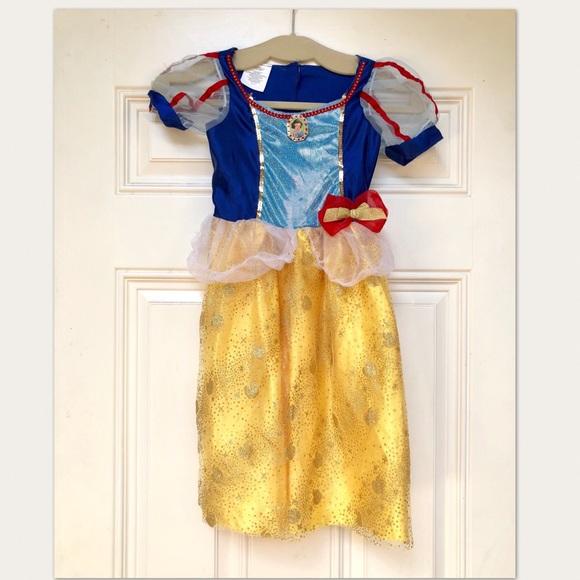 Disney SNOW WHITE Dress Up Costume Girls Small 4-6